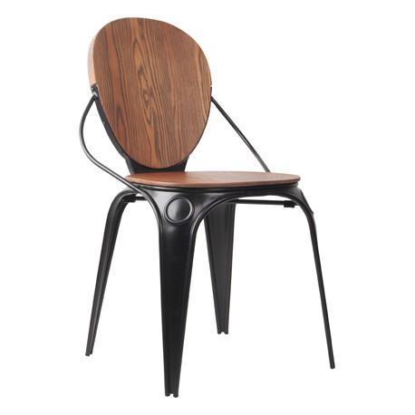 Chaise Louis Antique Black
