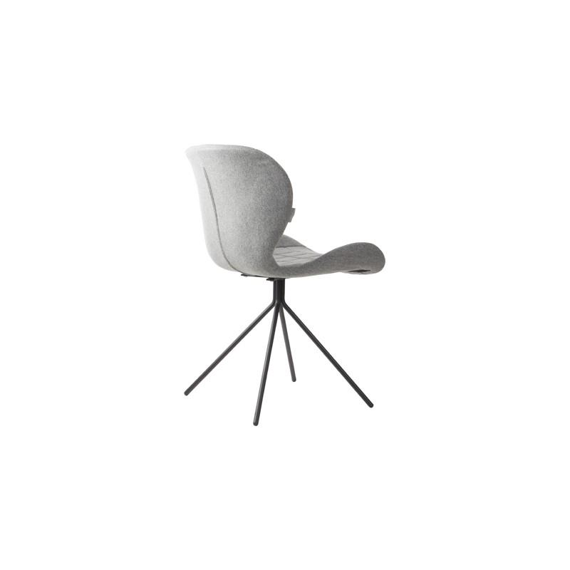 Chaise omg grise abc der duret boutique en ligne for Chaise grise