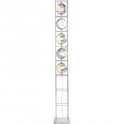 Lampadaire Tower chromé Five