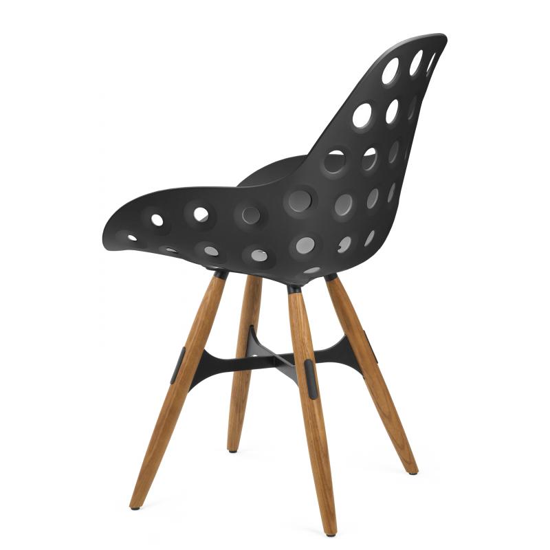 chaise zigzag dimple abc der duret boutique en ligne. Black Bedroom Furniture Sets. Home Design Ideas